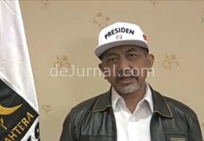 Presiden Partai Keadilan Sejahtera (PKS) H. Akhmad Syaikhu