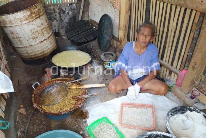 Ema Eti sudah 15 tahun di Cipeuyeum jadi pengelola Pepetek belum pernah mendapat bantuan pemerintah