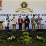 Debat publik Calon Bupati/ Wakil Bupati Bandung , Sabtu (31/10/2020).