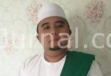 KH. Ibnu Athaillah, Rois Syuriah Jam'iyyah Ahlith Thariqah al-Muktabarah an-Nahdliyah (JATMAN) Kabupaten Bandung.