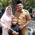 Muhammad Andika bersama Wakil Bupati Garut dan istri.