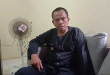 Kepala Desa Mandalakasih, Iwan Darmawan. (Foto : Raesha/dejurnal.com)