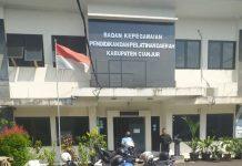 Kantor BKPPD Kabupaten Cianjur.