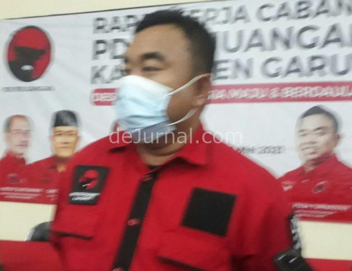 Ketua DPC PDIP Kabupaten Garut, Yudha Puja Turnawan.