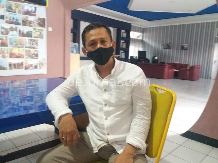 Kepala.UPT Perparkiran Dishub Kabupaten Bandung Doddi.