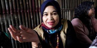 Ketua TKSK Kecamatan Margahayu Ecin Kuraesin. (Sopandi/dejurnal.com)