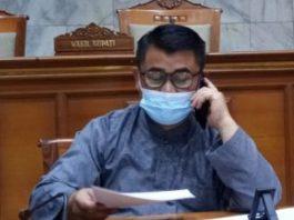 Anggota Komisi A DPRD Kabupaten Bandung H. Tedi Surahman.