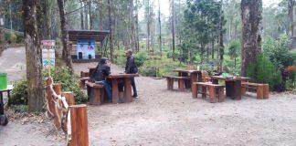 Salah satu objek wisata di Desa Alamendah Kec. Rancabali, Kab. Bandung.