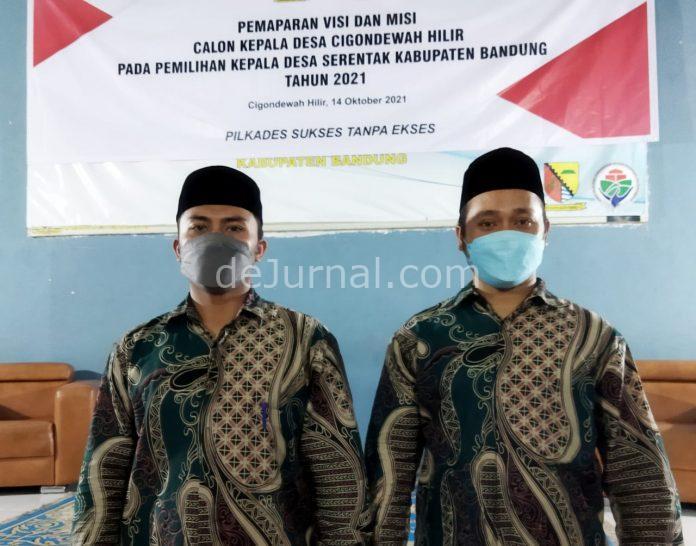 Muhammad Abdul Gani anggota PPKD Cigondewah Hilir dan anggota lainnya. (Sopandi/dejurmal.com)